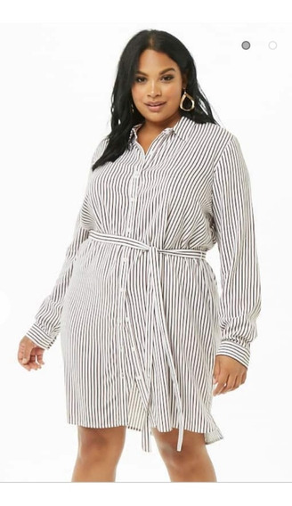Vestido/camisa Plus Size Forever 21 Original Talle Grande