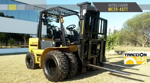 Autoelevador Michigan 2545tt 2.5tn 4.5mts Diesel Nuevo Usd