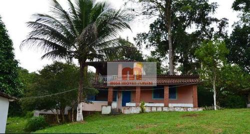 Chácara Residencial À Venda, Ana Dias, Itariri. - Ch0081