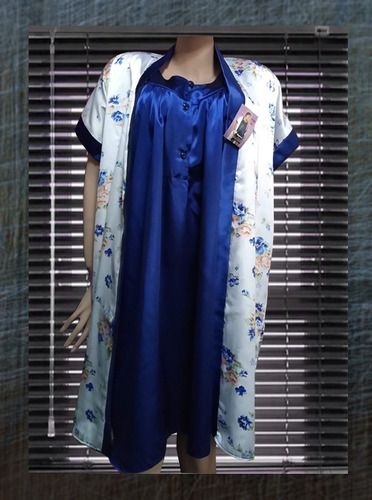 ab27f417d Maternidad - Pijama De Seda Charmouse