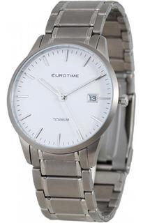 Reloj Eurotime Caballero Titanium Sumergible