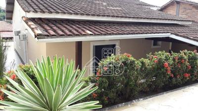Casa Com 3 Dormitórios À Venda, 239 M² Por R$ 595.000 - Pendotiba - Niterói/rj - Ca0990