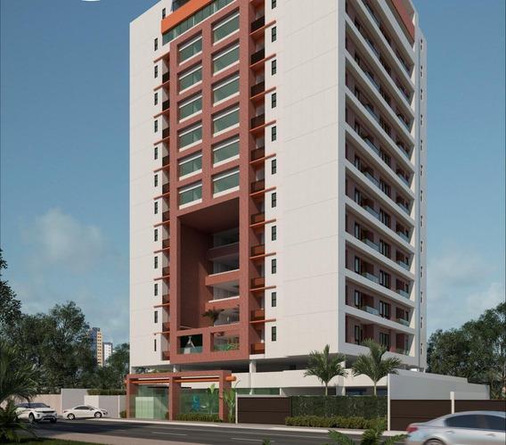 Apartamento Para Venda Em João Pessoa, Cabo Branco, 1 Dormitório, 1 Banheiro, 1 Vaga - 7650_1-1026777