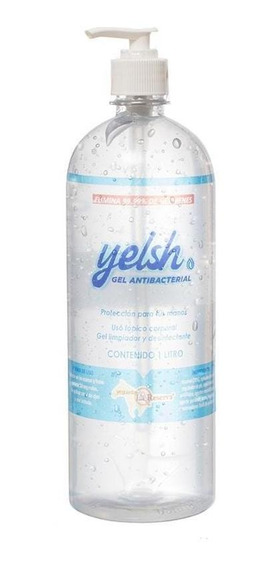 Gel Antibacterial 1 Litro Yelsh 70% Alcohol - Yeguada La Res