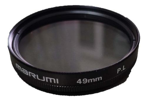 Filtro Polarizador Marumi 49mm, Japan, Ver Ingresos Brutos