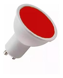 Lampara Dicroica Led Color 220 7w Gu10 Garantia 120º