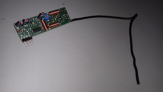 Placa Receptora Controle Remoto 433mhz Portão E Alarme