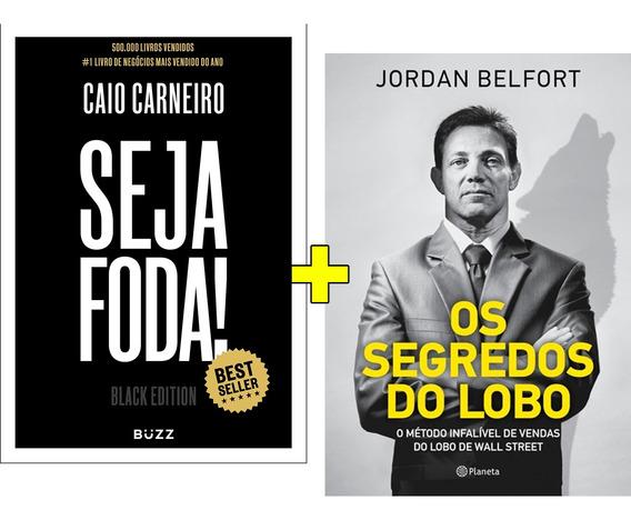 Kit 2 Livros Os Segredos Do Lobo Seja Foda Black Edition