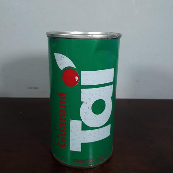 Lata Latinha Antiga Refrigerante Taí Guaraná Ferro Vazia