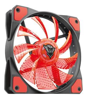 Ventilador Led Illuminated Silent Gxt 762r Rojo - Trust
