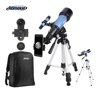 Aomekie Telescopio P/ Adults Kids Astronomy Beginners Mm R