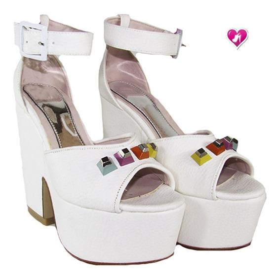 Sandalia Con Pulsera Al Tobillo Mod Keops De Shoes Bayres