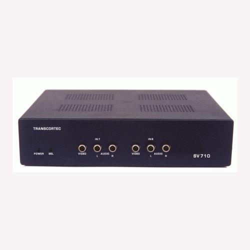 Seletor De Video Rca Composto+audio 7 X 1 Sv-710 (switch)