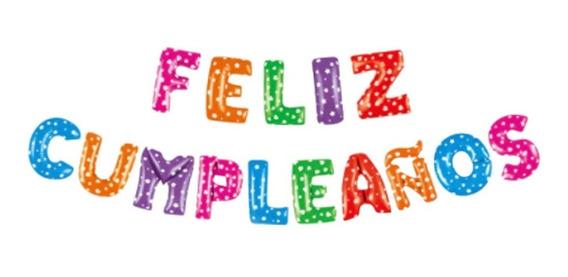 Globo Metalizado Feliz Cumpleaños 15 Pul - Ciudad Cotillón