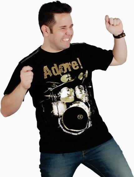 Camiseta Bateria Adore