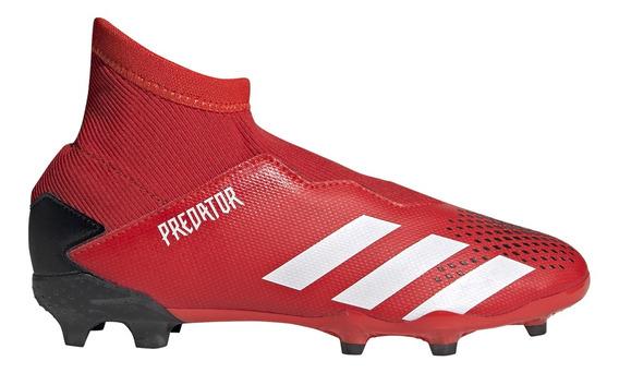 Botines Con Tapones adidas Predator 20.3 Ll Fg J Niño Rj/ng