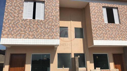 Casa Com 2 Dormitórios À Venda, 60 M² Por R$ 260.000,00 - Jardim Paraíso - São Vicente/sp - Ca1526