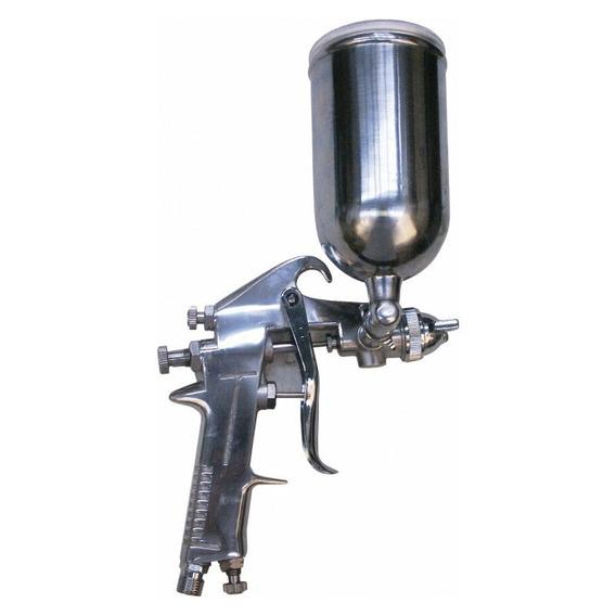 Pistola Gravedad Aerografo 43 Psi Vaso 400 Cc Silverline
