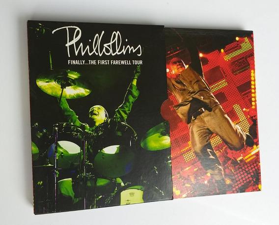 Dvd - Phil Collins Finally First Farewell Tour - Box 2 Dvds