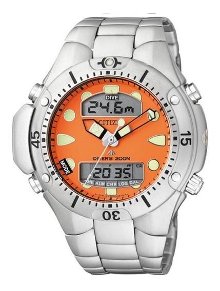 Relógio Citizen Aqualand Tz10128j C/ Nf-e