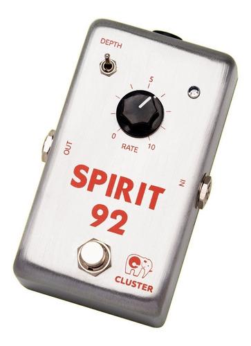 Imagen 1 de 3 de Pedal De Chorus Analógico P/ Guitarra   Cluster Spirit-92