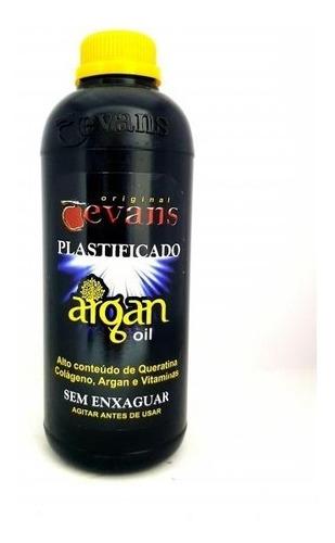 Imagen 1 de 4 de Plastificado Capilar Evans X 3 Litros Colageno Y Argan Oil