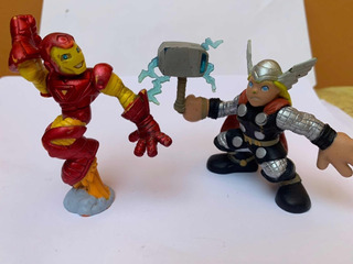 Hasbro Figuras Para Colección Thor 2008 Y Iron Man 2006