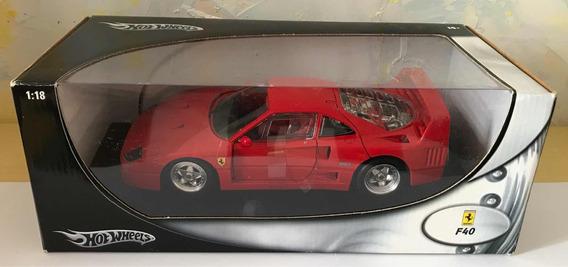 Hot Wheels Ferrari F40 1:18 Raríssimo