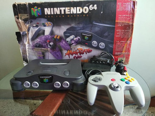 Nintendo 64 Con Caja N64
