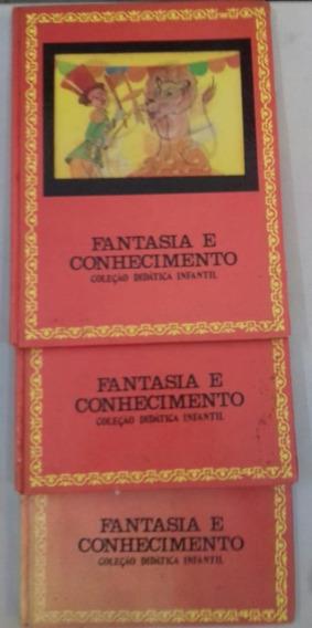 Coleção Didática Infantil: Fantasia E Conhecimento (3 Vols)