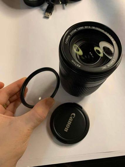 Lente Câmera Canon Efs 18-135mm