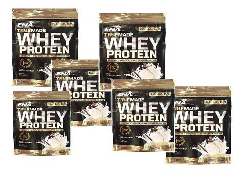 Proteina True Made Whey Protein X453gr Ena X 6!! Mundo Gym
