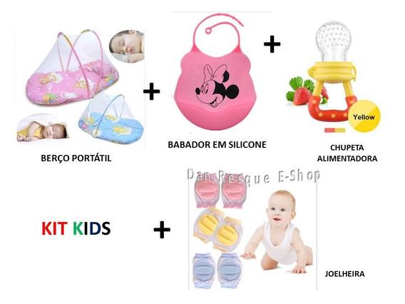 Pacote Kids Para Crianças Bebê Enxoval Ver Descrição Chupeta Alimentadora Berço