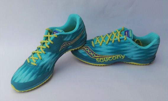 Spikes Para Atletismo Mujer Talla 39,5col 10,5us 27,5cm