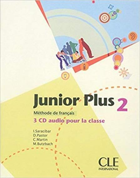 Junior Plus 2 - 3 Cd Audio Pour La Classe - Cle Internationa