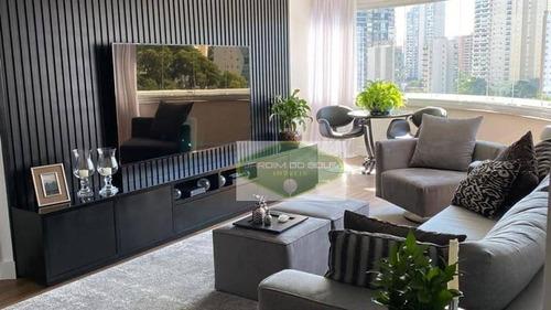Apartamento À Venda, 116 M² Por R$ 1.450.000,00 - Brooklin Paulista - São Paulo/sp - Ap2212