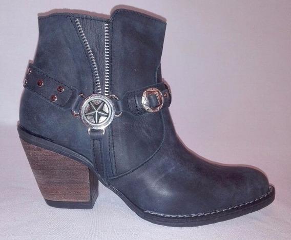 Zapatos De Cuero De Mujer