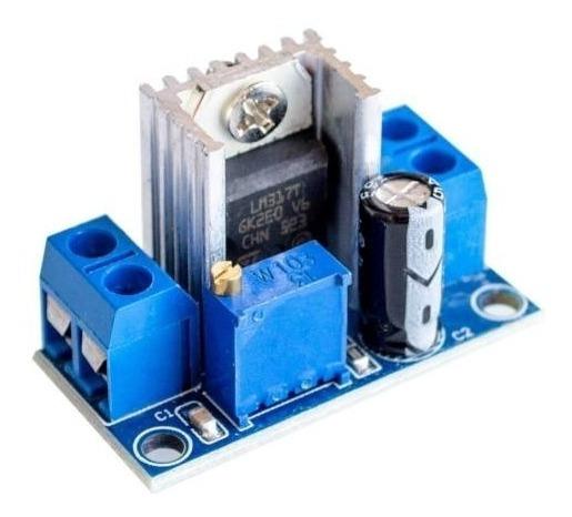 Modulo Fuente Regulada Regulador Lineal Lm317 Ajustable
