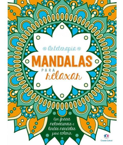 Livro Para Colorir Mandalas Para Relaxar 0892 29185