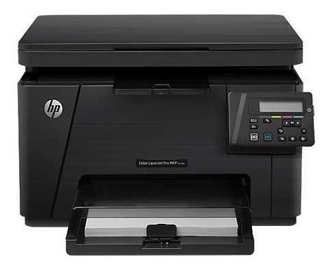 Impressora Hp Color Laser Pro Mfp M176n Usada + Toners