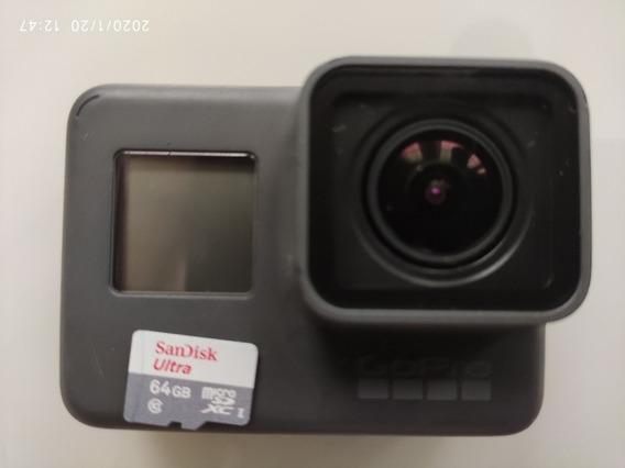 Câmera Esporte Go Pro Heroe 5 Black Semi Nova (sem Cartão)
