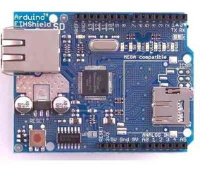 Arduino Shield Ethernet W5100 - Pronta Entrega