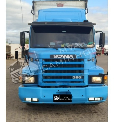 Caminhão Scania 113 H - 6x2 T