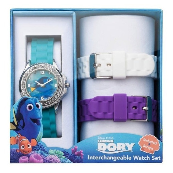 Reloj Disney Dory Con Correas Intercambiables