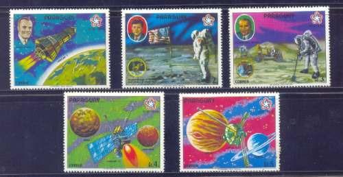 Paraguay 1977 Astrofilatelia Serie Completa Mint