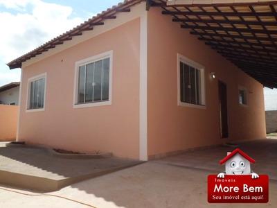 Casa Nova Para Moradia Ou Veraneio Na Região Dos Lagos/rj. - Cs-637