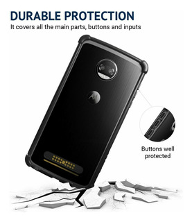 Capa Protetora Bumper Original Motorola Moto Z2 Force