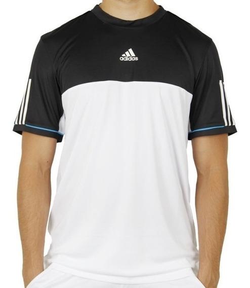 Camiseta adidas Response Tee White & Black Tennis Climacool