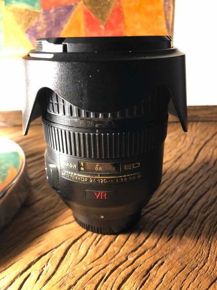 Lente Nikon Af-s 24-120 F 3.5-5.6 Ed Vr G