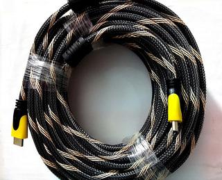 Cable Hdmi Longitud 25 Metros V1.4 Full Hd 3d Alta Velocidad